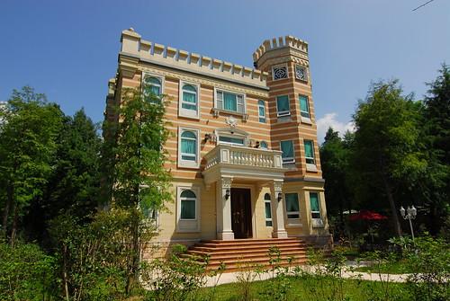 歐莉葉荷城堡外觀