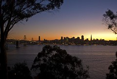 San Francisco Sunset (sharp.focus) Tags: sf sanfrancisco skyline gorgeous picturesque beatiful ybi yerbabuenaisland sfskyline