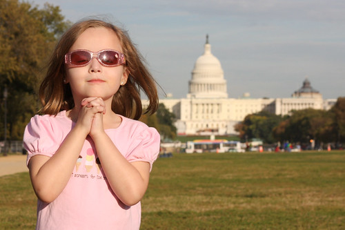 Molly prays for our government
