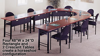 Tiffany Conference Training Tables (Demco)