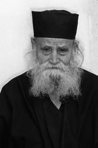 Elder Kleonikos at Iveron Monastery