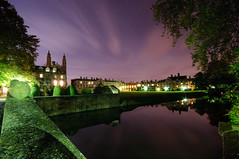 Night Sky Over Clare and Kings (Andrew Stawarz) Tags: longexposure cambridge night evening nikon published kingscollege meet rivercam clarecollege d300 sigma1020mmf456exdchsm adobelightroom explored jerwoodlibrary themostofthemost