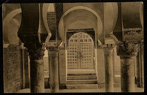 Mezquita del Cristo de la Luz (Toledo), a principios de siglo. Foto Wunderlich