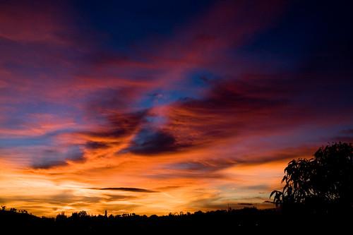 Shiny happy sunset