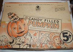 Candy Filled Pumpkin display box