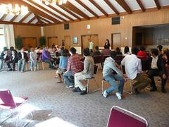 第4回鹿児島大学シリコンバレー研修ツアー  St. Mary's College での語学交流会