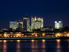 Canary Warf 04, London (kaay 1) Tags: city london night shot londonbynight nightshoot londonnight