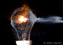 Lights Out (James Neeley) Tags: stopaction highspeedphotography flickr8 mywinners highspeedflashphotography jamesneeley