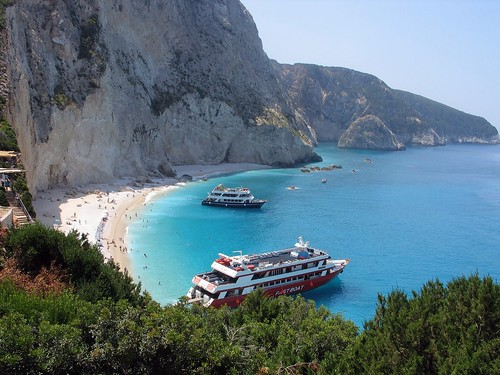 The Beach of the Goat...Greece, Lefkada island por swellette.