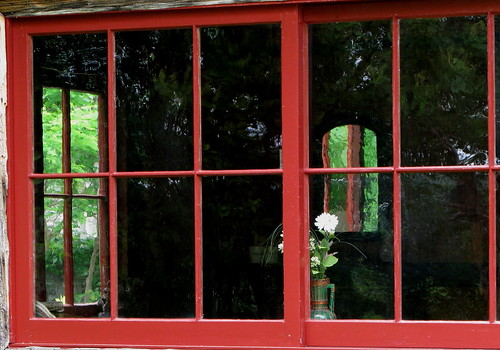 Red Windowframes