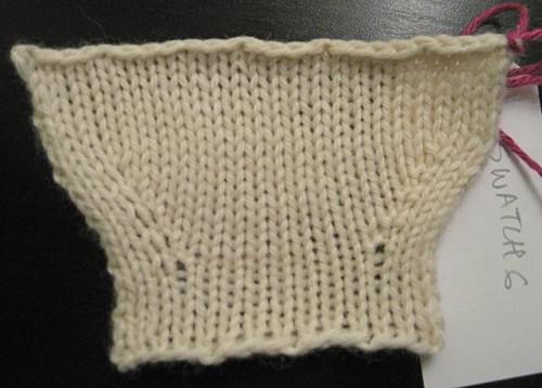 Master Knitting Level 1 Swatch 6