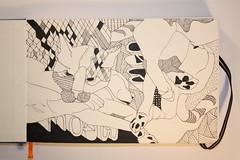 cat doodle - 1nov08