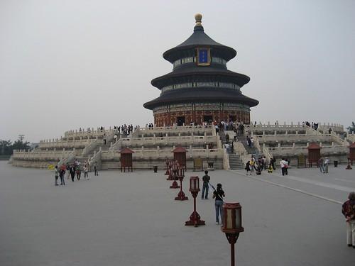 Temple du ciel, le parc