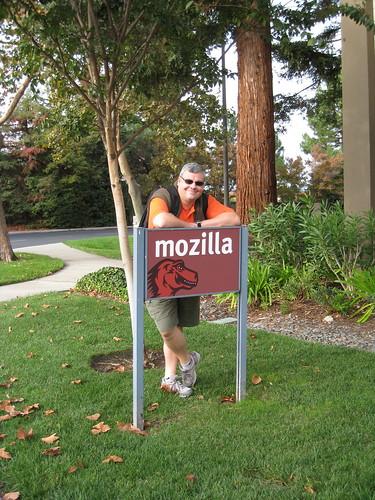 En Californie, devant les locaux de Mozilla