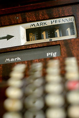 Mark and Pfennig no more