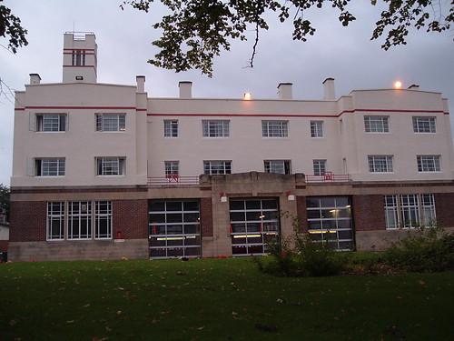 Kirkcaldy Fire Station facade