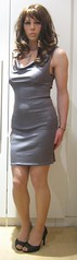 Grey Halter Mini (MissMajaRyan) Tags: dress maja favourites 100000views bodycon missmajaryan