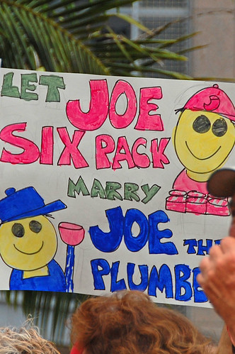 Let Joe Sixpack Marry Joe the Plumber