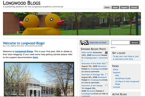Image of Longwood Blogs