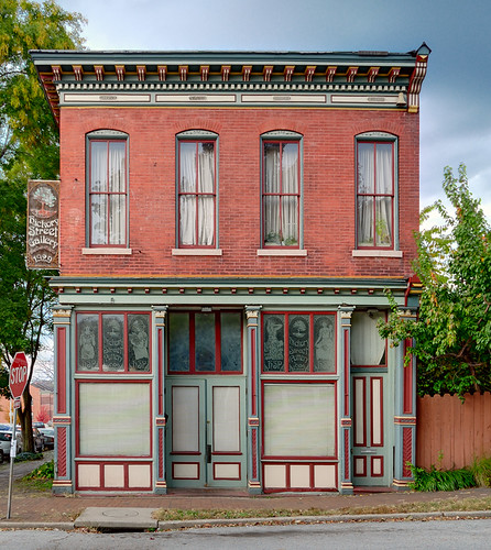 Lafayette Square Neighborhood, in Saint Louis, Missouri, USA - shop