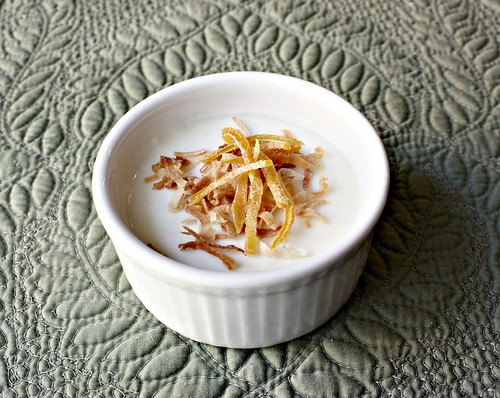 Tibok-Tibok (Coconut Milk Pudding)