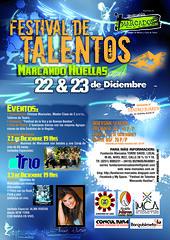"""Festival de Talentos """"Marcando Huellas"""""""