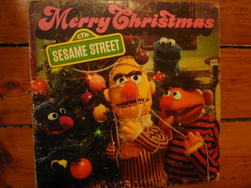 Sesame Street Christmas record