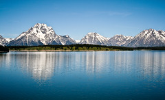 Lake Reflection, Grand Tetons