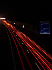 Life is a Highway... (Tobias Neubert Photography) Tags: longexposure motion night wonderful germany bayern deutschland bavaria lights cool highway nacht great autobahn excellent lichter weiden altenstadt langebelichtung lifeisahighway mywinners