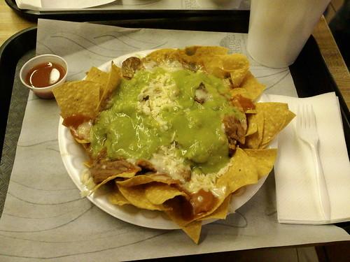 Cinco de Mayo Mexican Nachos with Chicharron - 11/23/08