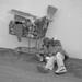 Un senzatetto a Milano