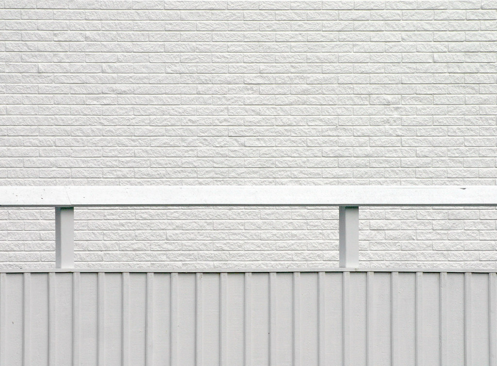 White Wall White Fence