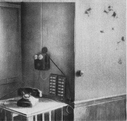 Teléfono desde el que se comunicaba Moscardó con el exterior del Alcázar