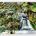 Madrid. Estatua de Sor Juana Inés de la Cruz.