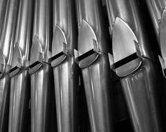 Pipe Organ (jpverkamp) Tags: bw white black monochrome grey gray pipe piano organ
