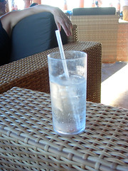 Malibu and soda...what a lovely afternoon.