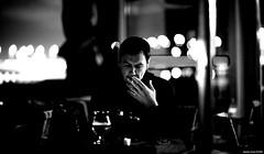 Fuori | 004.365 (Stephan Geyer) Tags: street bw man monochrome bar canon dof bokeh candid 85mm smoking 5d canon5d canoneos5d 8512 85l hbw ef85mmf12lusm 6milliondollarteam 5dclassic canon5dclassic