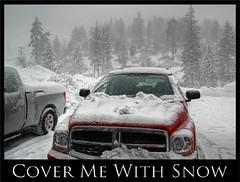 cover me with snow (Kris Kros) Tags: california bear lake photography big high dynamic range hdr kkg photomatix 1xp kkgallery