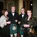 Andrea and Daniel Forbes with Carol and Alan at Belfast Harbour Commissioners Office