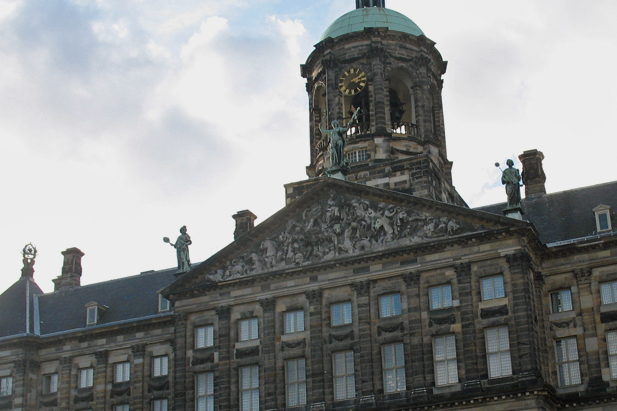 Dam Palace in Amsterdam