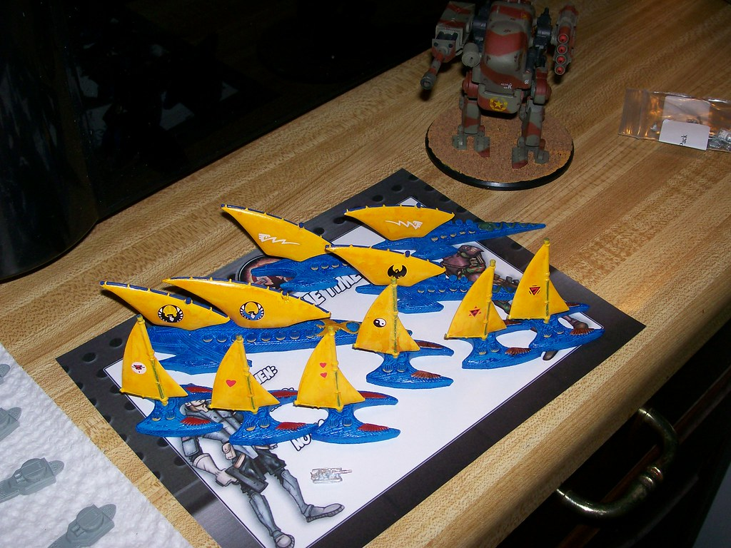 Uncharted Seas Elf Fleet