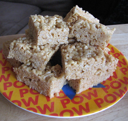 peanut butter rice crispy treats!