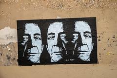A.L. Tony : Lou Reed (dprezat) Tags: altony loureed velvetunderground velvet underground transformer vicious paris street art graf tag pochoir stencil peinture aerosol bombe painting urban nikon d800 nikond800 streetart