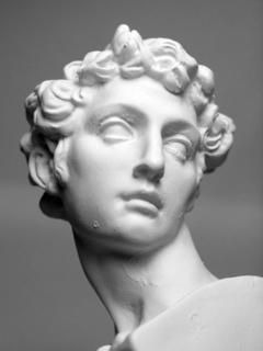 Medici plaster figure