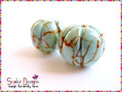 Pumpkin beads