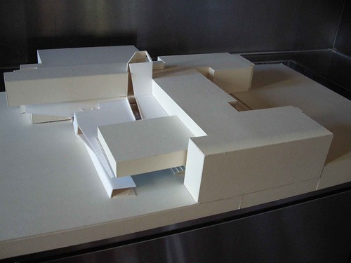 Schul-Umbau 2010-2011 - Modell aus Sommer 2009