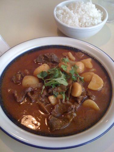 Masaman Curry, Jajas River Kwai, Collierville, Tenn.