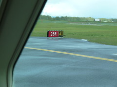 Ready to takeoff on 28R Photo