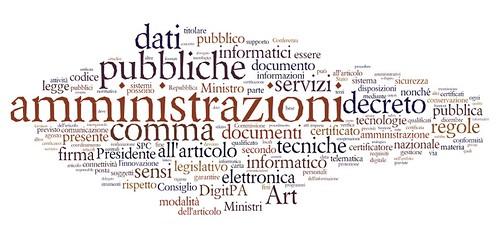 le parole del nuovo codice dell'amministrazione digitale