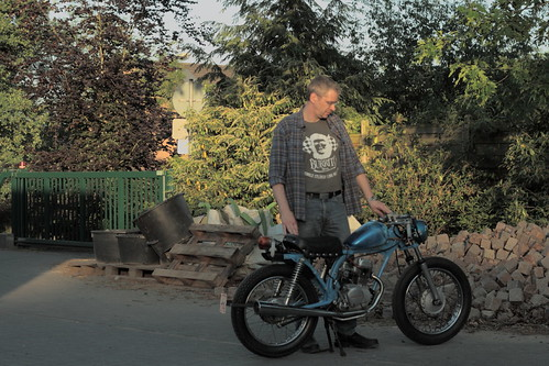 Honda CB50 Bobber